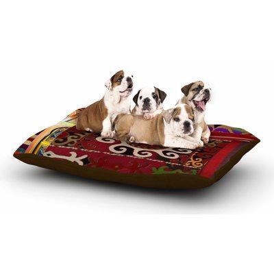 East Urban Home S Seema Z 'Burst of diverse' Ethnic Dog Pillow with Fleece Cozy Top