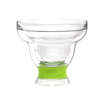 Host Margarita Freeze 12 oz. Plastic Cocktail Glasses Color: Green