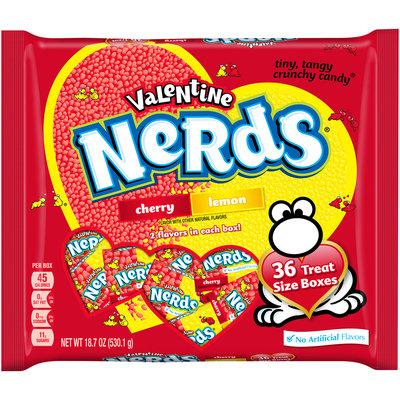 NERDS Valentine Treat Size Bag, 18.7 oz, 36 count
