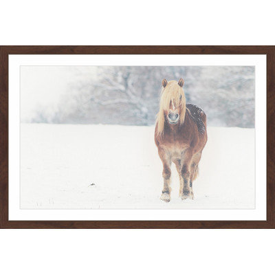 Marmont Hill Inc Marmont Hill - 'Here I Come' Framed Painting Print