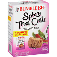 Bumble Bee® Spicy Thai Chili Seasoned Tuna 5-2.5 oz. Box