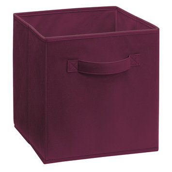 ClosetMaid Cubeicals Fabric Drawer - Cabernet - 1 Pack