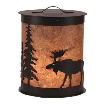 Coast Lamp Mfg Moose and Tree 1- Light Night Light