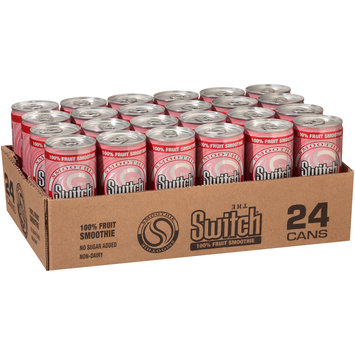 The Switch® Strawberry Banana 100% Fruit Smoothie 8 fl. oz. Can