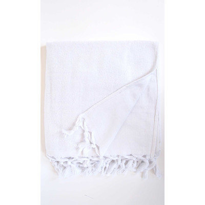 Darby Home Co Hudgens Bath Sheet Color: White