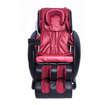 Newacme Llc Exacme Luxury Multi-function Electric Automatic Massage Chair 0008 Red Black