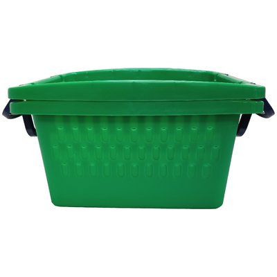 Rebrilliant Large Stacking Storage Plastic Basket