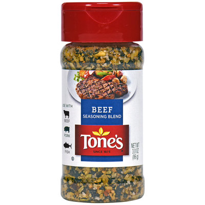 Tone's® Beef Seasoning Blend 3 oz. Shaker