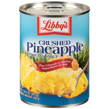 Libby's® Crushed Pineapple in Heavy Syrup 20 oz. Pull-Top Can