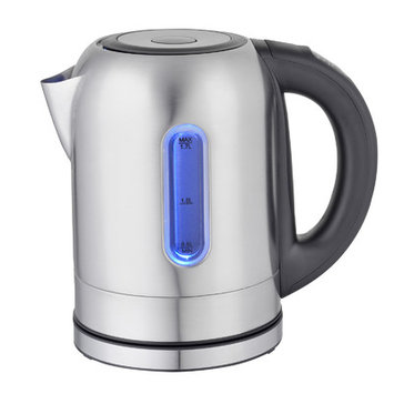 Mega Chef 1.8-qt. Stainless Steel 5 Preset Temps Electric Tea Kettle