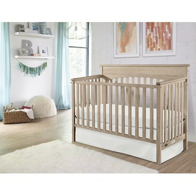 Graco Lauren 4-in-1 Convertible Crib Finish: Driftwood