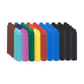 Thornton's Luxury Goods Thornton's Short Standard International Fountain Pen Ink Cartridges, Assorted Ink, Pack of 50