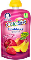 Gerber® Graduates® Grabbers™ Apple, Mango & Strawberry Squeezable Fruit 4.23 oz. Pouch (Pack of 12)