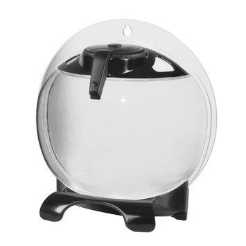 Eliv 0.5 Gallon Betta Bubble Aquarium Kit Color: Black