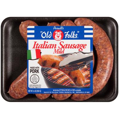 "Purnell's ""Old Folks""® Mild Italian Sausage 16 oz. Pack"