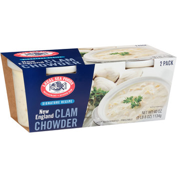 Legal Sea Foods Signature Recipe New England Clam Chowder 2 ct Sleeve