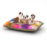 East Urban Home Ebi Emporium 'Free Your Mind' Dog Pillow with Fleece Cozy Top Size: Small (40