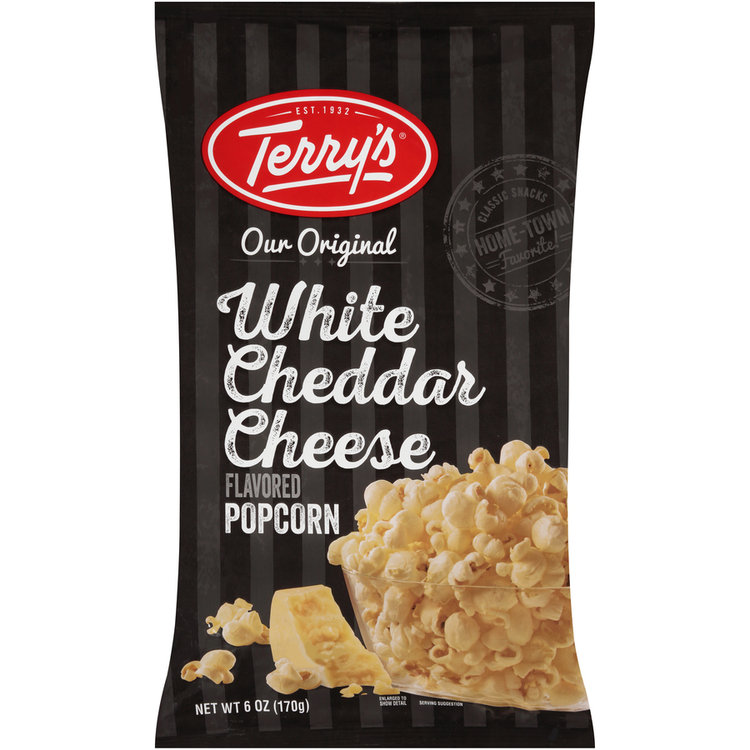 terry's® our original white cheddar cheese flavored popcorn