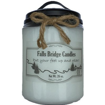 Fallsbridgecandles Peaches and Cream Jar Candle Size: 6.5