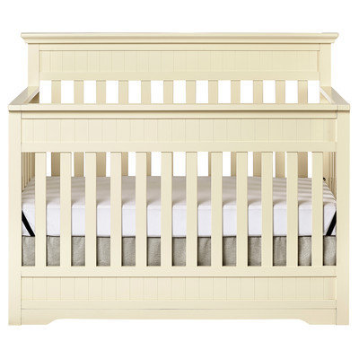 Dream On Me Chesapeake 5-in-1 Convertible Crib Finish: French White