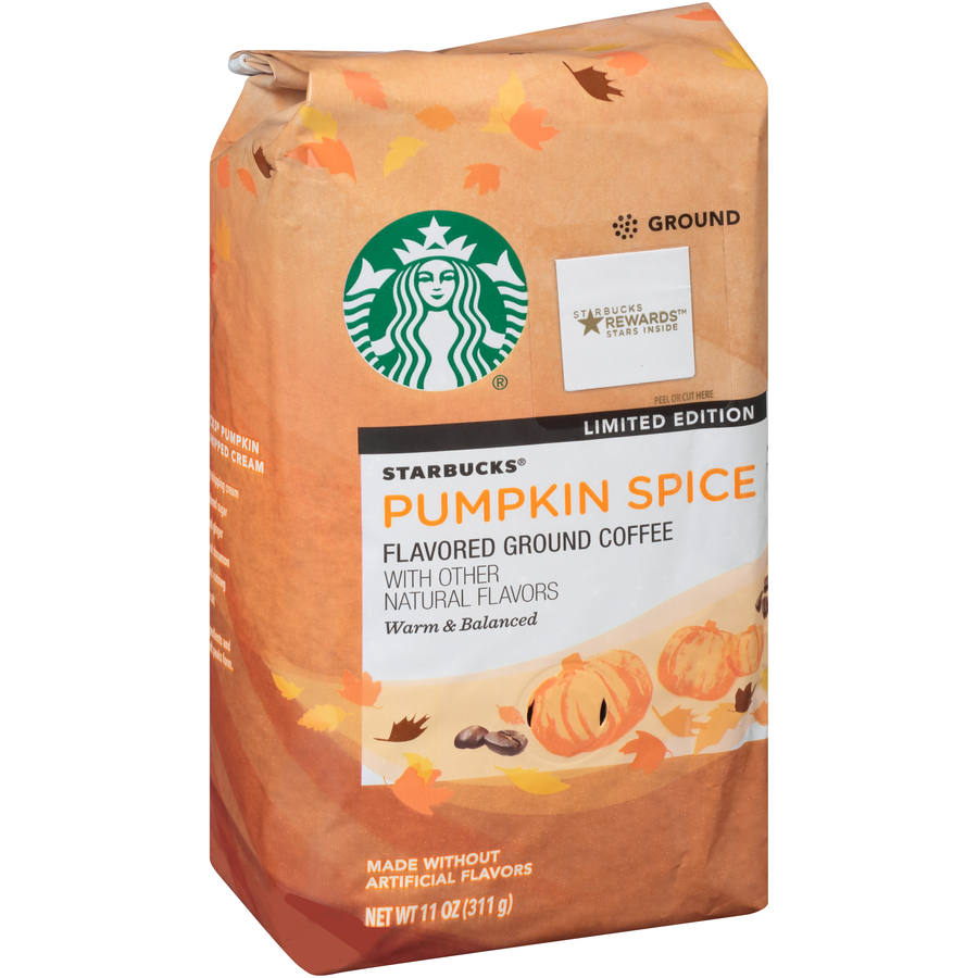 Starbucks® Pumpkin Spice Flavored Ground Coffee 11 oz. Bag