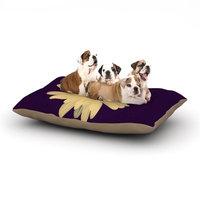 East Urban Home Robin Dickinson 'Half Crazy' Dog Pillow with Fleece Cozy Top Size: Small (40
