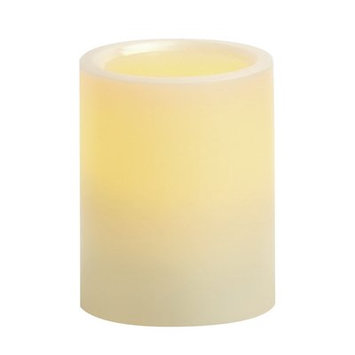 Winston Porter Vanilla Scented Flameless Candle Size: 4