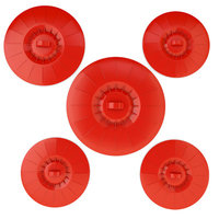 My Home Basics 5 Piece Silicone Food Storage Suction Lid Set