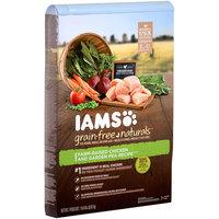 Iams™ Grain-Free Naturals™ Farm-Raised Chicken and Garden Pea Recipe™ Dog Food 19.0 lb. Bag