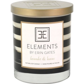 Elements By Erin Gates Erin Lavender / Leaves Jar Candle