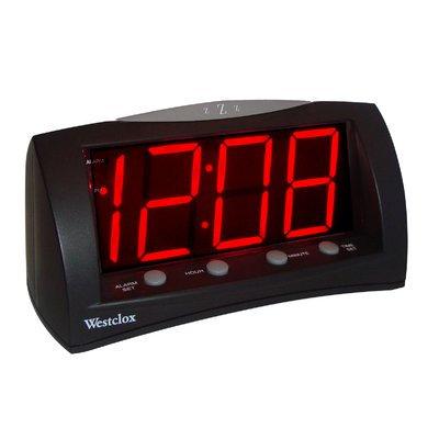 Symple Stuff Extra Large Display Alarm Clock