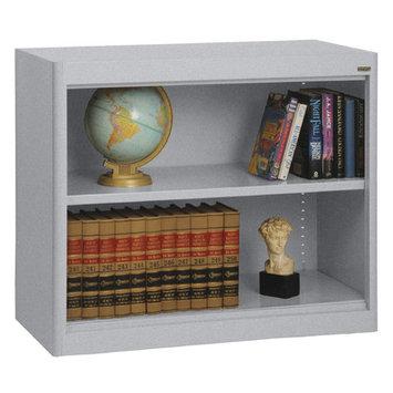 SANDUSKY BA1R361830-MG Radius Edge Bookcase,36x18x30in, MG