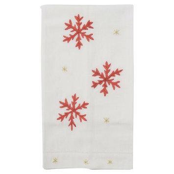 The Designs Of Distinction Snowflake Hand Towel
