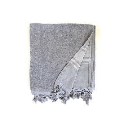 Darby Home Co Hudgens Bath Sheet Color: Dark Grey
