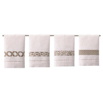 Peking Handicraft Jessa 4 Piece Bath Towel Set