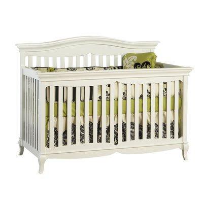 Pali Mantova 4-in-1 Convertible Crib Finish: White