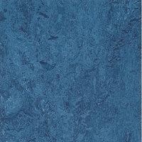 Marmoleum Click Cinch Loc Blue 9.8mm Thick x 11.81 in. Wide x 11.81 in. Length Laminate Flooring (6.78 sq. ft. / case), Medium