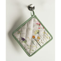 Maison D' Hermine Botanical Fresh 100% Cotton Set of 2 Potholders