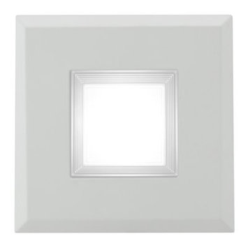NICOR DQR3-10-120-3K-WH-BF 3 in. Square LED Recessed Downlight in 3000K White