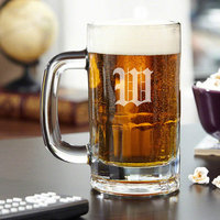 Red Barrel Studio Steigerwald Personalized 14 oz. Beer Mug Monogram: U