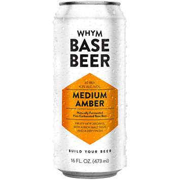 Whym Medium Amber Base Beer 16 fl. oz. Can