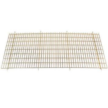 Proselect Floor Grate Cage in Gold - Size: Medium / Large (36 D)