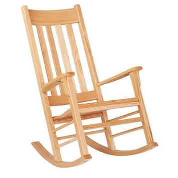 Ecr4kids Classic Oak Kids Rocking Chair