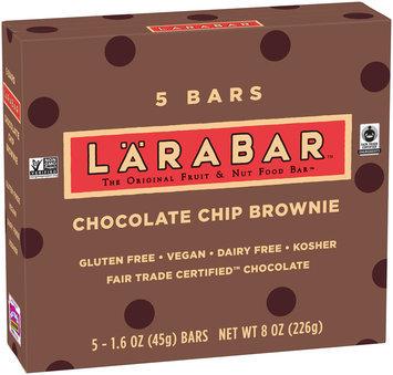 Larabar™ Chocolate Chip Brownie Fruit & Nut Bars 5 ct Box