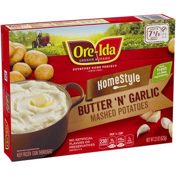 Ore-Ida™ Homestyle Butter 'N' Garlic Mashed Potatoes 22 oz. Box