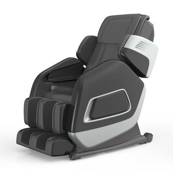 Symple Stuff Aria Massage Chair Upholstery: Black