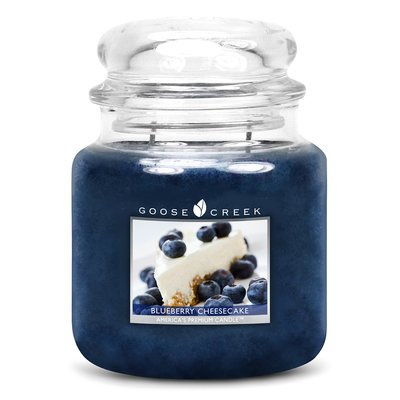 Goose Creek Candle Company Essential Series Blueberry Cheesecake Scented Jar Candle
