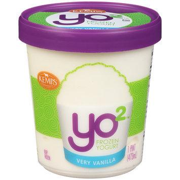 Kemps® Yo2™ Very Vanilla Frozen Yogurt 1 pt. Tub