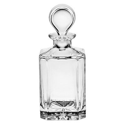 Godinger Silver Art Luminous Square Whiskey Decanter