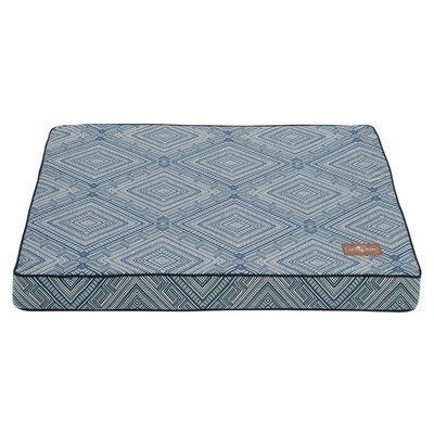 Jax And Bones Gatsby Memory Foam Mat/Pad Pet Bed Size: 5